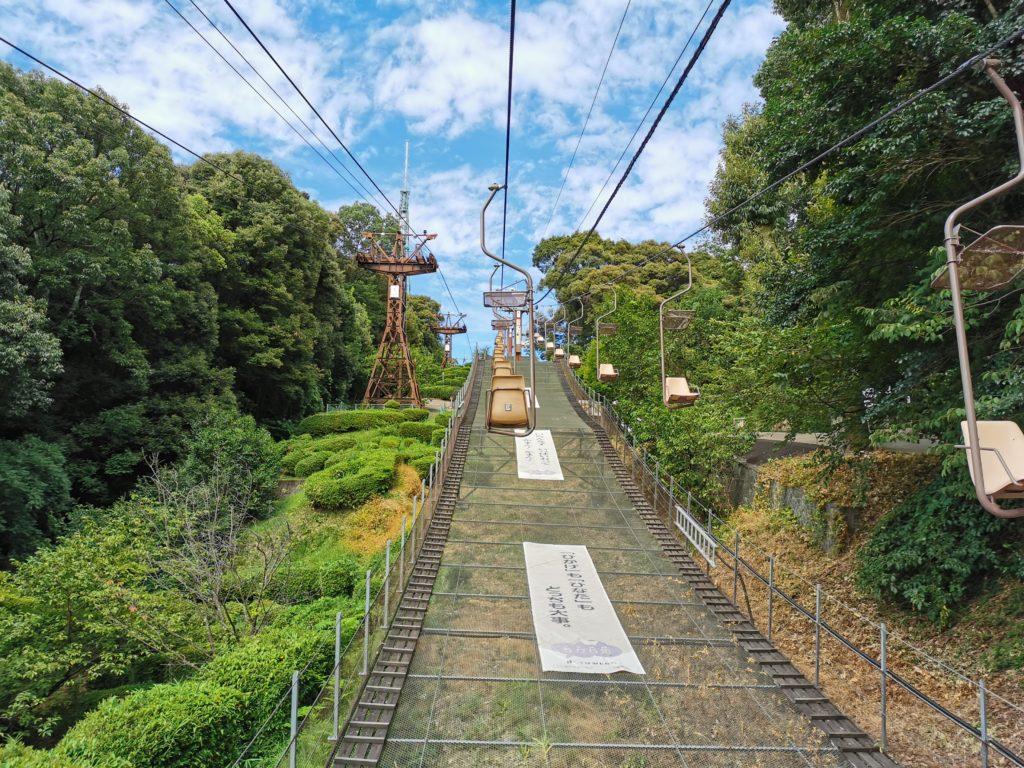松山城の観光ならロープウェイ・リフトを使うのがおすすめ!